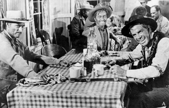 Wild West Saturday - Lee Van Cleef, Strother Martin and Lee Marvin in The Man Who Shot Liberty Valance (1962).
