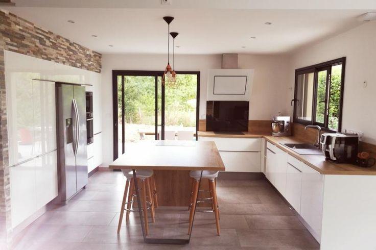 48 best \u003d Cuisine kitchen \u003d images on Pinterest Black kitchens