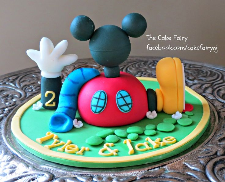 32 Awesome mickey mouse clubhouse cake tutorial images