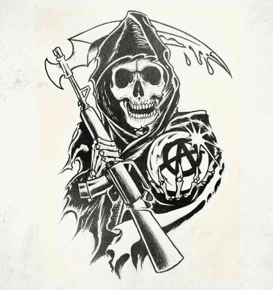 Contribute to the best show ever a future sons of anarchy for Sons of anarchy tattoos