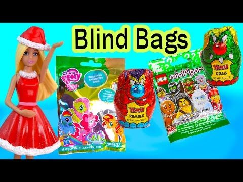 Mlp Chocolate Blind Bags Surprise Mystery Figures My Little Pony Yowie Lego Minifigure Cookieswirlc Youtub Blind Bags Lego Minifigures Mini Figures
