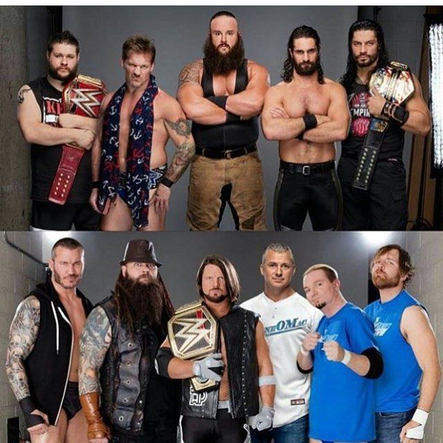 #teamsmackdown or #teamraw #survivorseries