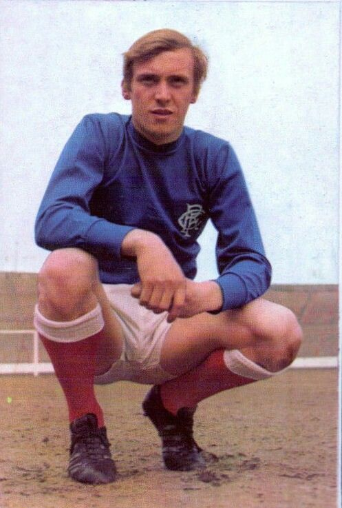 Colin Stein of Rangers in 1969.