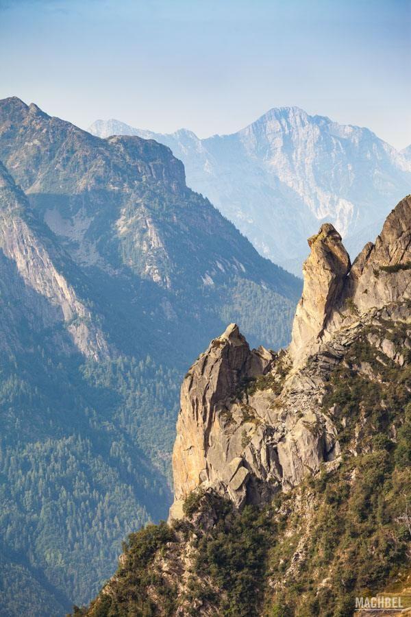 Detalles de los Alpes Val Seriana valle en Italia by machbel