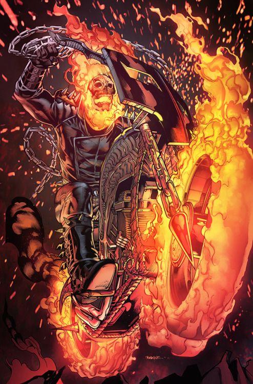 Ghost Rider - Teodoro Gonzalez