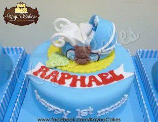 Baby Raphael 1st month celebrations