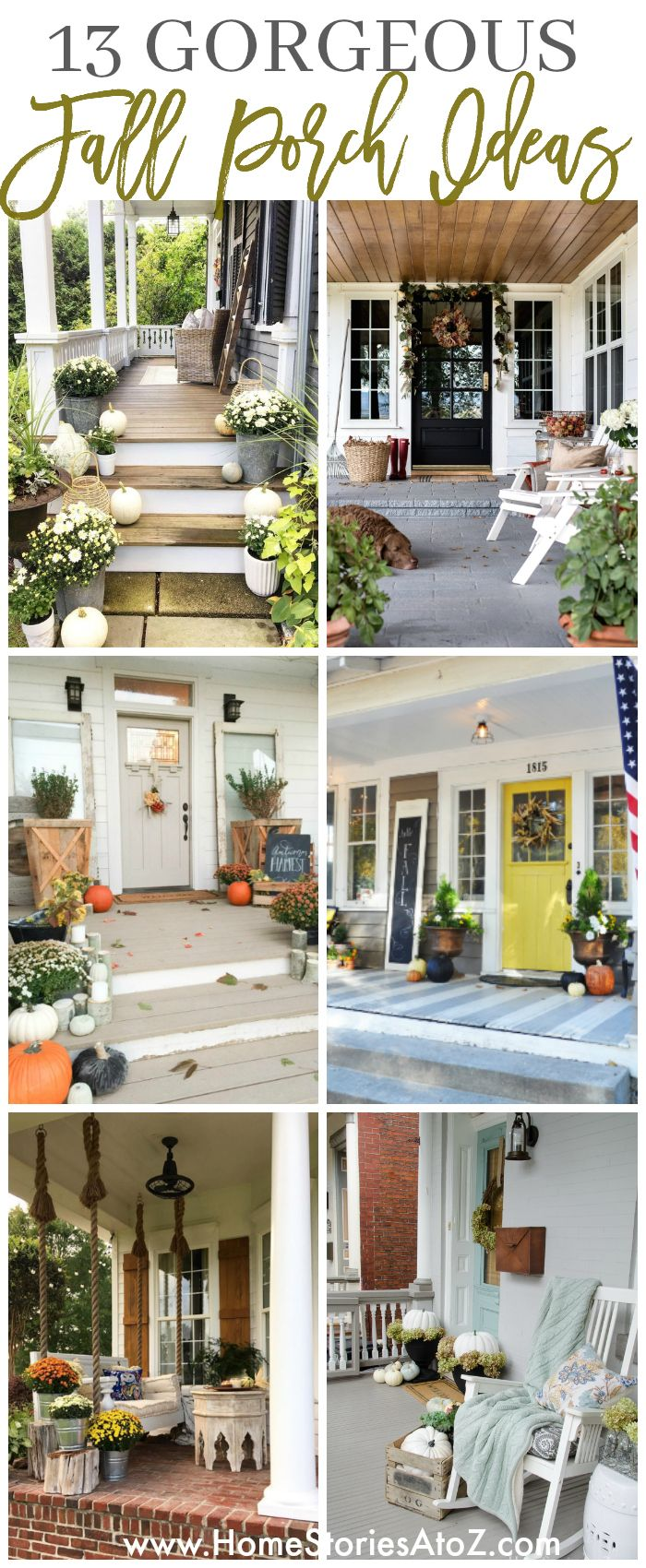 13 Gorgeous Fall Porch Ideas 255 best