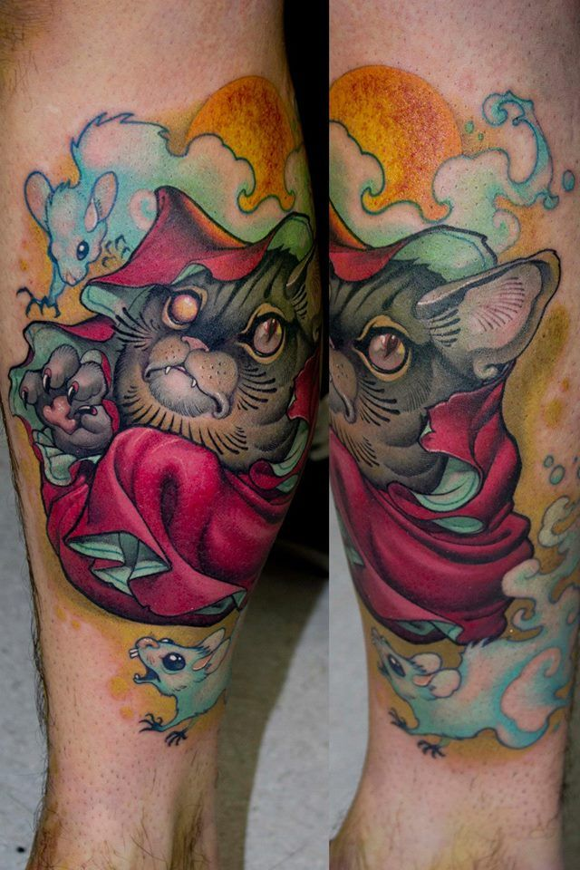 153 best kitties and some not kitties images on pinterest for Bad cat tattoo