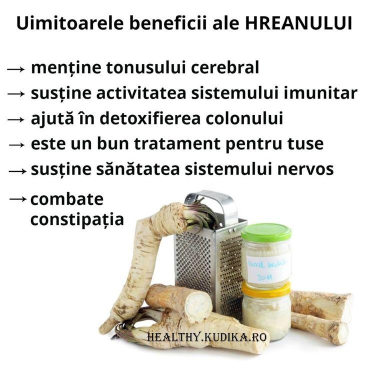 Radacina ROMANEASCA: uimitoarele beneficii ale HREANULUI