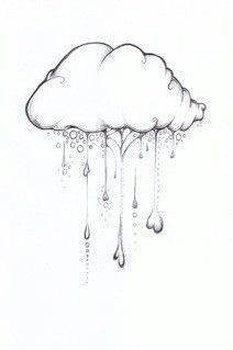 thunderstorm ink drawing - Google Search