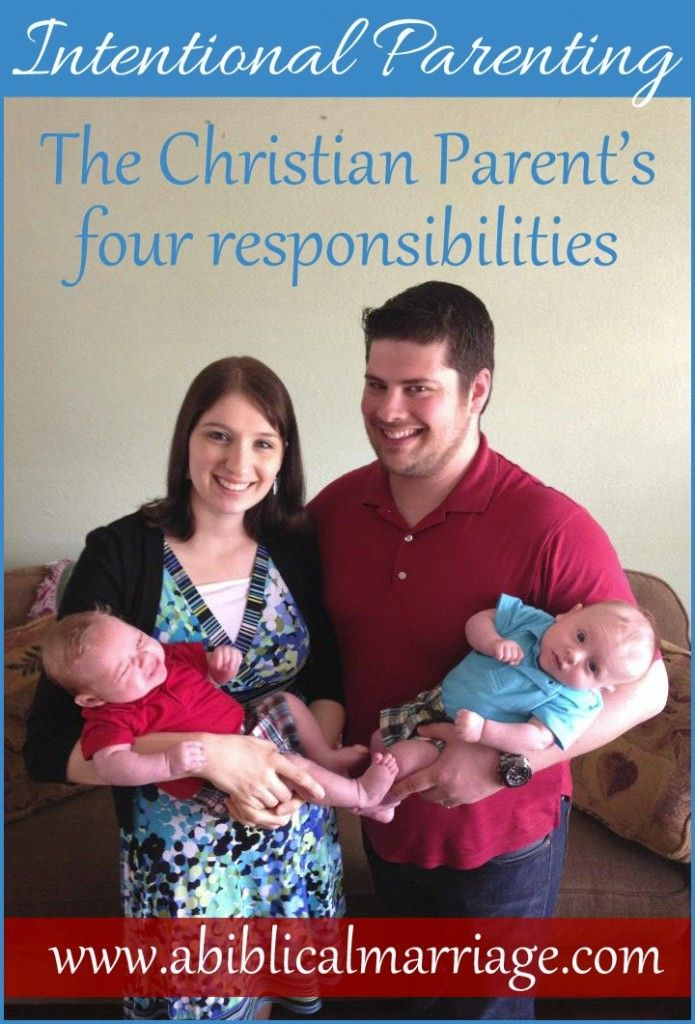 The Christian Parent's Four Responsibilities