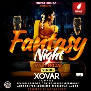 Fantasy Night with celebrity Dj KIM on the wheels of steel from 6pm and after 2 am on Saturday morning.