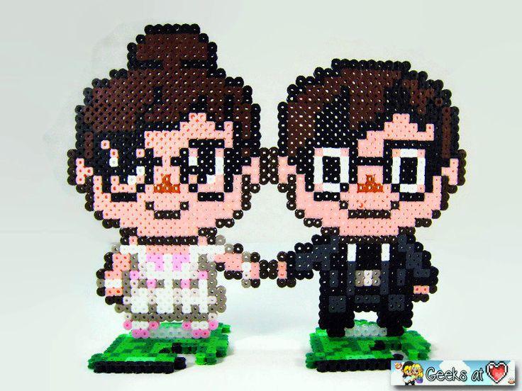 Pixel Art Wedding Cake : 17 bedste billeder om Perler Beads (Bugelperlen) pa ...