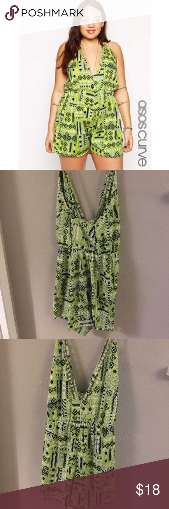 ASOS green romper Little green romper that I think would look cute over swim suit. ASOS Curve Other