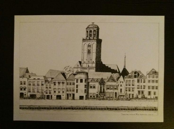 Deventer, met de Lebuinuskerk