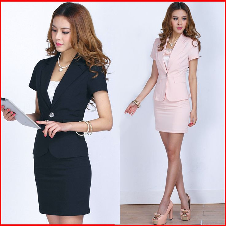 2013 Summer New Fashion Formal Work Wear Professional Suits Short-Sleeve Set Skirt Female Career Business Dress Women's Clothes