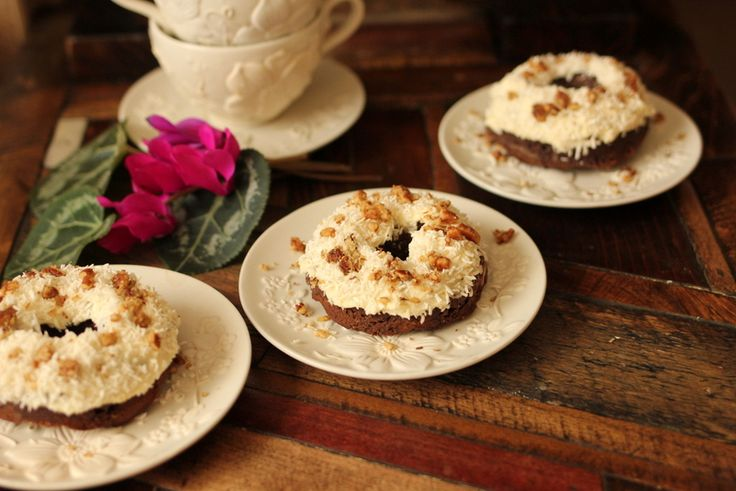 Gluten Free German Chocolate Donuts: Thm, German Chocolate