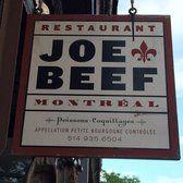 Joe Beef - Montreal, QC, Canada
