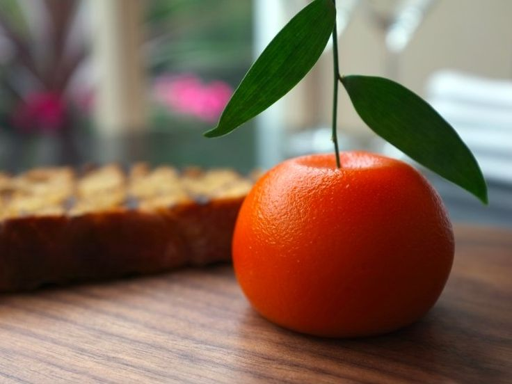 LONDON: meat fruit at Dinner by Heston Blumenthal