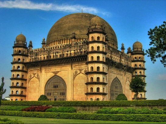 Gol Gumbaz, #Bijapur #Mosque #India #Travel #Tourism #Pilgrim