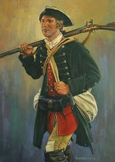 Colonial Soldier - Patriot Grandfathers I have so many. I am a Daughter of the American Revolution. I will find each one.
