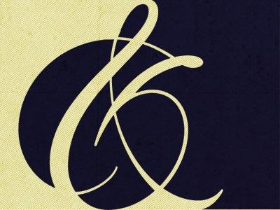 #ampersand & #negativespace. #typography
