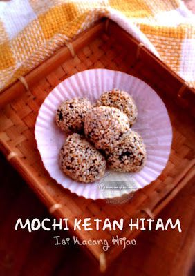 Momylicious...: Mochi Ketan Hitam
