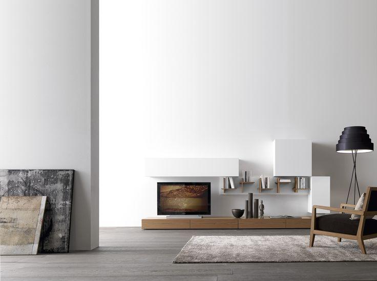 Best Aufbewahrungsmobel Wohnzimmer Pari Dispari Presotto Ideas ...