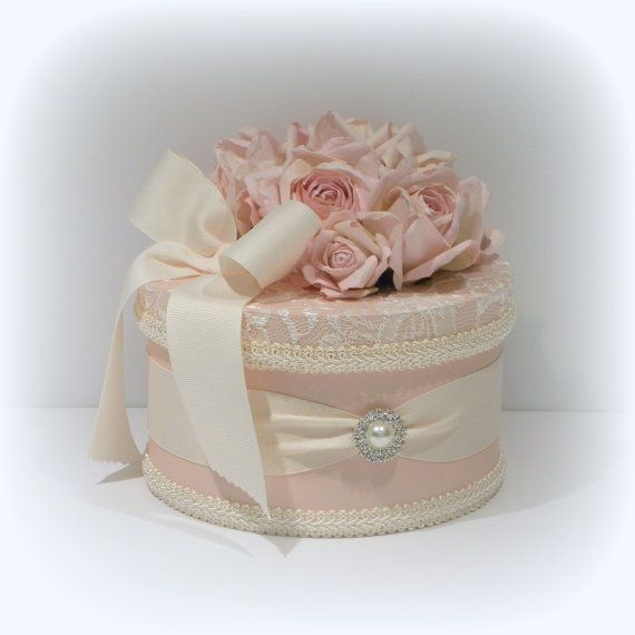 Shabby Chic Decor Shabby Chic Box Decorated by uniqueboxboutique