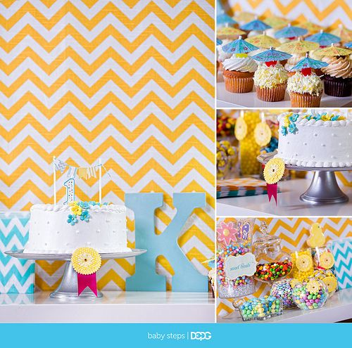 yellow and turquoise party - Google Search