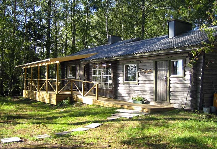 Nature close accommodation with peace and harmony.  #nature #finland #cottage #harmony #lakeside #midnight #sun #summer #travel #vacation #family #safety #forest #pinecabin #aurinkoranta