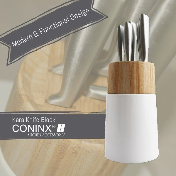 Create extra space on your kitchen counter with this beautiful knife holder. Safe & functional! More info in bio.  #knifeholder #kitchenaccessories #kitchen #kitchendetails #kitchendesign #kitchentools #amazon #coninx #knifeblock #instafollow #likeforlike #follow #knifestorage #knife #kitchenknives #design #bamboo #wood #keuken #keukenaccessoires #keukendetails #keukendesign #messenhouder #messenblok #messen #keukenmes #kitchenknife