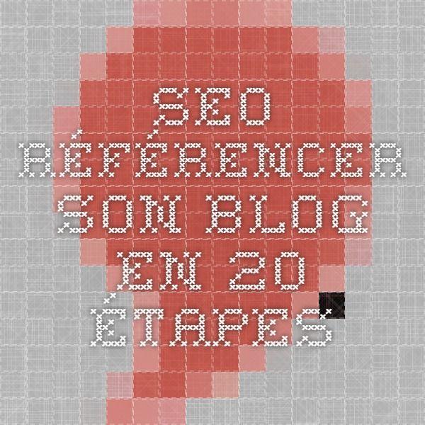SEO PDF Référencer son blog en 20 étapes