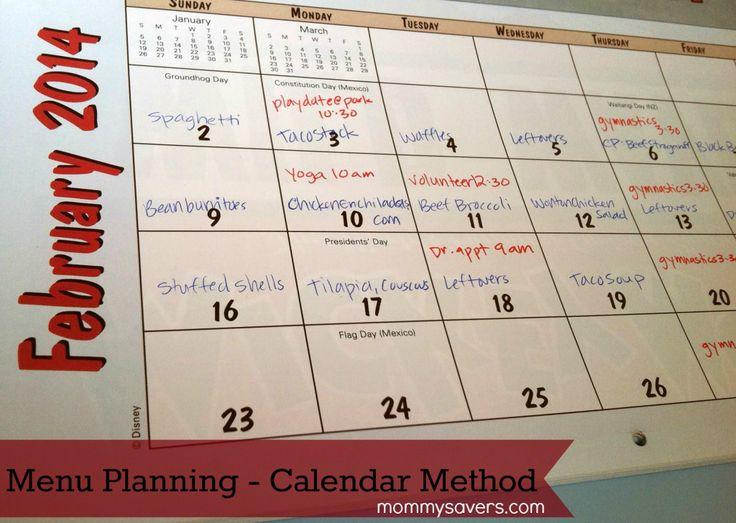 The 25+ best Menu calendar ideas on Pinterest Monthly menu - menu for the week template