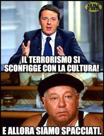 #ridere #ridiamo #humor #satira #umorismo #satirapolitica #sbruffonate…