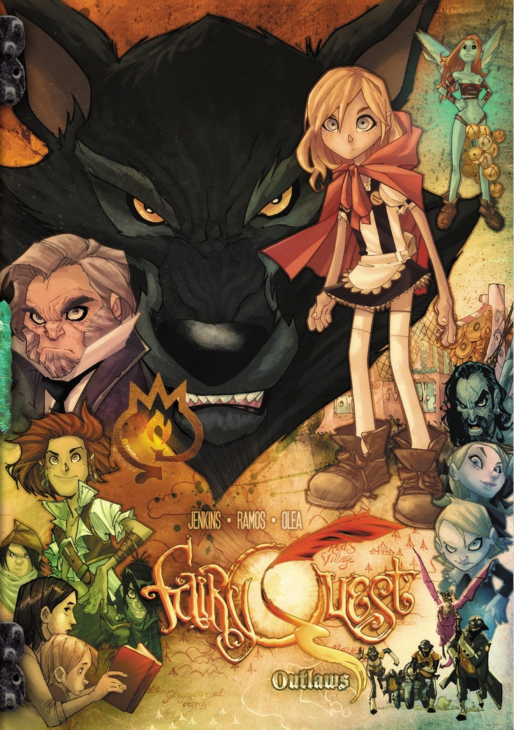 Paul Jenkins and Humberto Ramos doing more Fairy Quest via Kickstarter? Yes please!