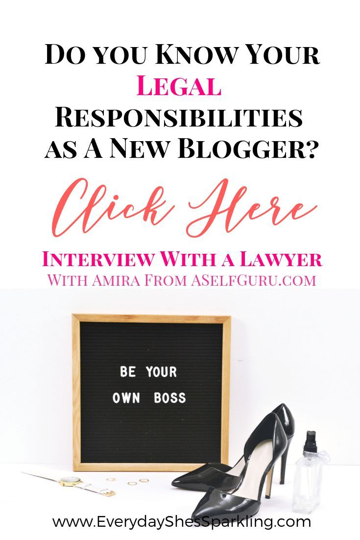 Interview with a Lawyer & Blogger: How to Make Money and Protect