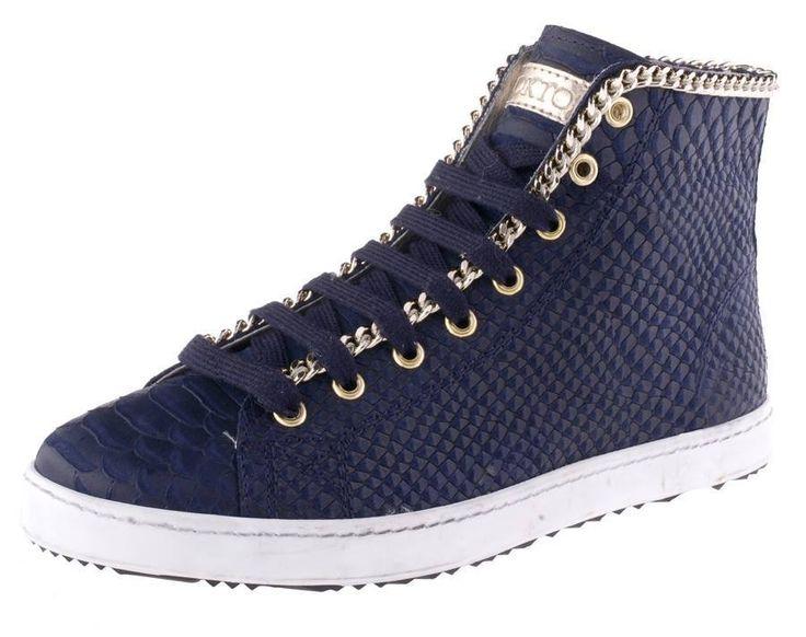 Stokton 14.15 collection blue sneaker
