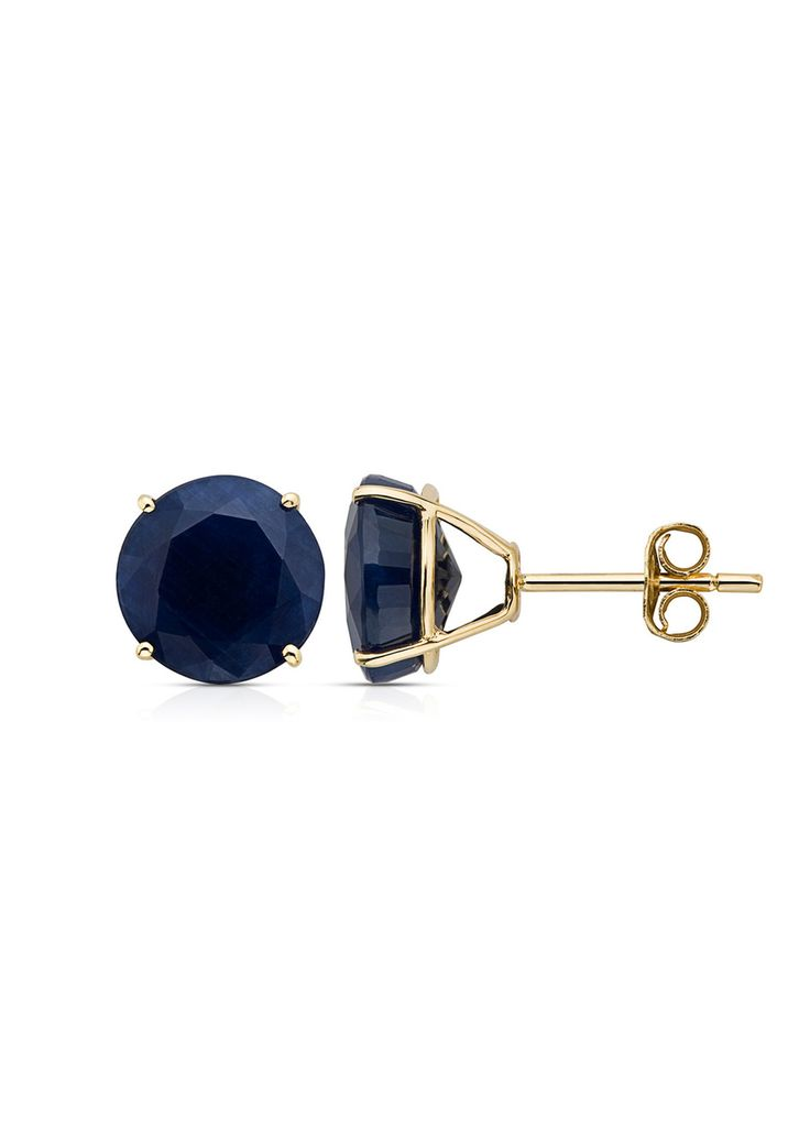 Sapphire Stud Earrings, these are gorgeous. A perfect wedding anniversary gift, hint hint Jay. :)