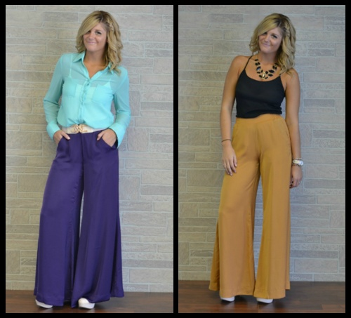 A Solid Wide Leg, 2 Colors: Summer Fashion, Wide Legs, Solid Wide