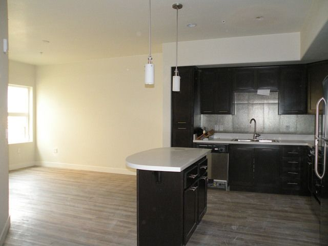 urbanite kitchen and living room luxury diego