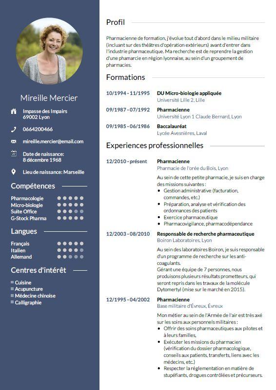 Creez Votre Cv Avec Un Modele En 3 Etapes Faciles Cv Wizard Resume Writing Services Cv Writing Service Job Cv