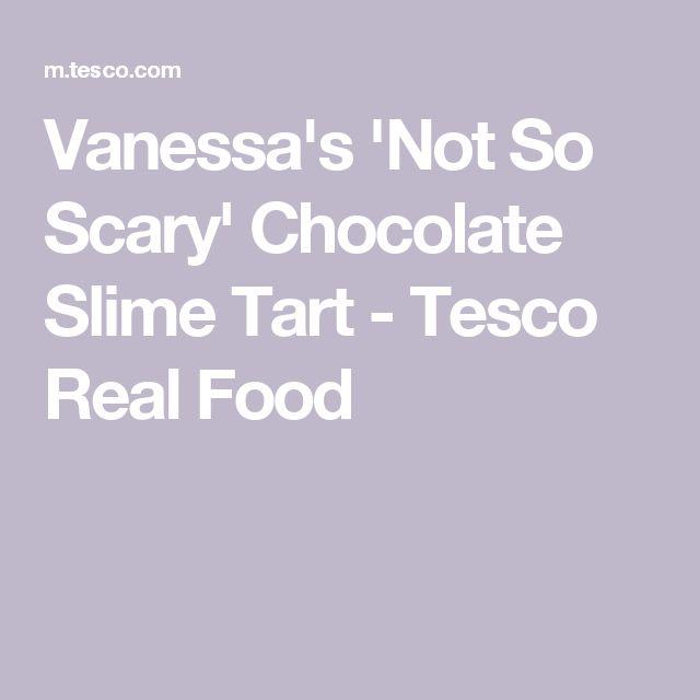 Vanessa's 'Not So Scary' Chocolate Slime Tart - Tesco Real Food