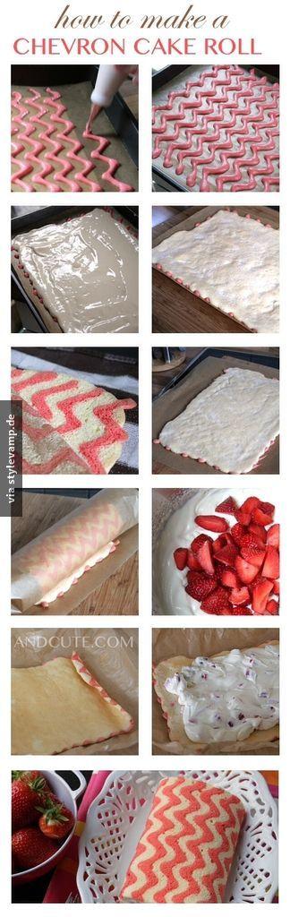 Strawberry -Cake-Roll