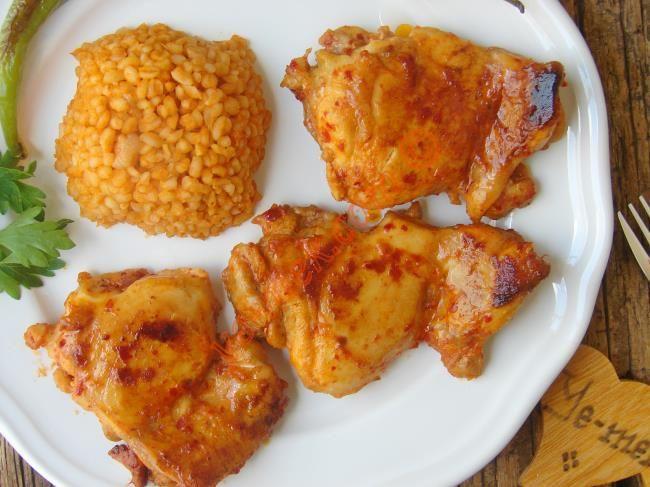 Tavada Izgara Tavuk Resimli Tarifi - Yemek Tarifleri