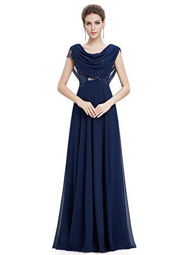 Ever Pretty Elegant Cowl Neck Sequin Evening Dress 09989 ...