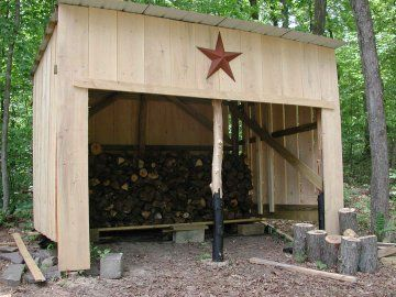 97 best images about pole barns sheds on pinterest for Three sided shed plans