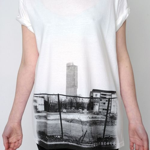 Great Beetham Tower T Shirt From #Manchester Based Grayscale Clothing.