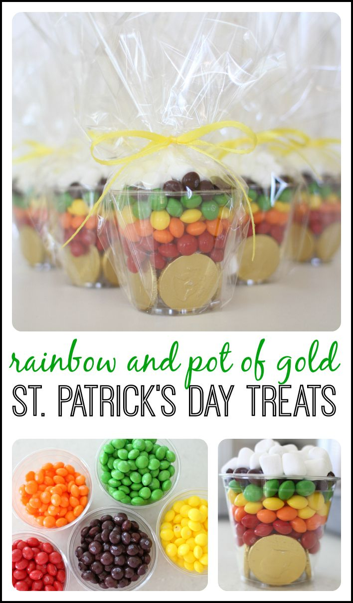 Rainbow treats for St. Patricks Day!