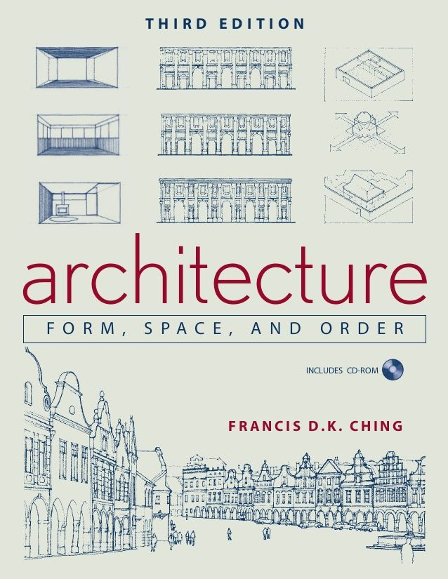 ISBN: 0-471-75216-9 Architecture/Reference CHING FORM,SPACE, ANDORDER THIRD EDITION INCLUDES CD-ROM architecture F R A N C...